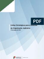 Linhas Estratégicas para a Reforma da Organização Judiciária
