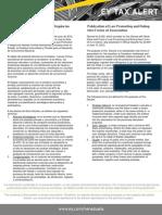 Tax Alert - Ley Que Promueve y Regula Las Nuevas Formas Asociativas Del Estado