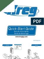 Kreg Jig - Manual de Uso