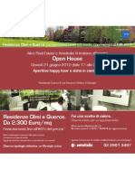 Invito Evento Open House Residenza Querce 4 | 21 giugno 2012 - v.3