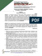 Informe Final Ley Desarme 12.JUNIO.2012