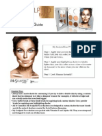 My Sculpted Face Instruction Guide
