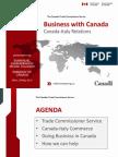 Canada-Italy Relations Presentation - Embassy of Canada