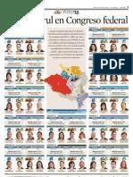 Buscan Curul en el Congreso Federal