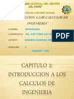 Introduccion a Los Calculos de Ingenieria