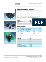 AFL CT 30A Fiber Cleaver spec sheet