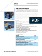 AFL FSM-18S spec sheet