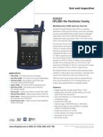 Noyes Ofl280-10x Flex Testes Otdr Spec Sheet