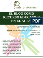 El Blog Como Herramienta Educativa