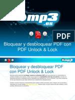 Bloquear y desbloquear PDF con PDF Unlock & Lock