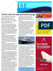 Cruise Weekly for Tue 19 Jun 2012 - Orion not for sale, Spirit in 2014, Scenic Tsar, Sydney tax and much more...