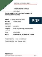 Commercial Banking in Kenya