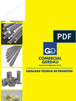 Catálogo_Comercial Gerdau