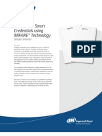 Contactless Smart Credentials using MIFARE® Technology