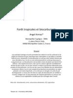Foret Tropicales Et Biocarburants_SupAgroAA