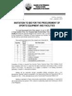 ITB212_013_ProcurementSportsEquipmentAndFacilities