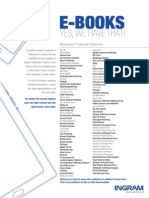 Featured publishers on MyiLibrary