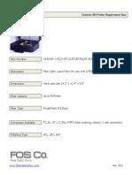 Pulse Suppressor Spec Sheet