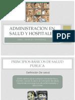 Administracion en Salud y Hospitales