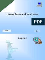 Prezentarea calculatorului