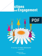 tConnection and Engagements - Vancouver Survey 2012