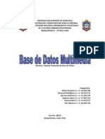 Base de Datos Multimedia
