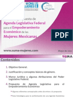 Agenda Legislativa Federal para el Empoderamiento Económico de las Mujeres Mexicanas