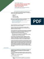 Procédure de personnalisation d'un profil utilisateur local par défaut lorsque vous préparez une image de Windows Vista, Windows Server2008, Windows7 et Windows Server2008 R2