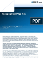 Managing Steel Price Risk
