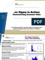 Repair Cycle Time Improvement Six Sigma Case Study