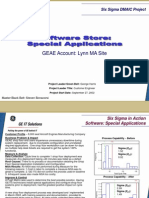 Software Store Cycle Time Six Sigma Case Study