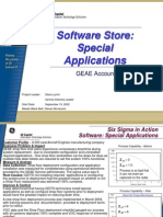 Special Applications Six Sigma Case Study