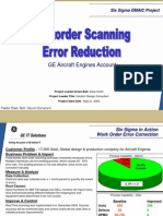 Workorder Error Reduction Six Sigma Case Study