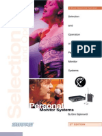 Shure - Guide to Personal Monitor Systems
