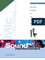 Shure - Microphone Techniques for Live Sound Reinforcement
