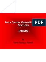 IMS605 Data Center Operational and Services part1