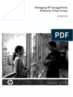 Hp Managing Storageworks Eva Student Guide Part 1 Uc420s c.00