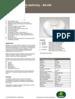 Heat Detector BDH-500 Datasheet