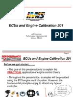 How to Calibrate ECU and Engine- SAE