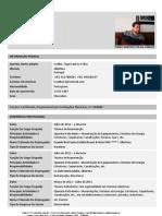 Europass - Curriculum Vitae Tiago Coelho - Português