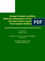 Mark Tatz_Asanga's Chapter on Ethics With the Commentary of Tsong-Kha-Pa_1986