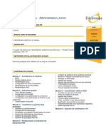 Linux - Administration Junior LPI 101