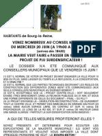 AQVBLR - 20 juin 2012 - mobilisation