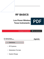 Texas RF ISM Bands Explanation