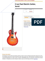 Epiphone LP-100 Les Paul Electric Guitar, Heritage Cherryburst