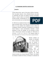 Revolucion de la Ciencia segun Kuhn