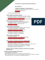 Proiect analiza economica financiara