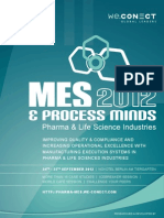 MES & Process Minds 2012_agenda