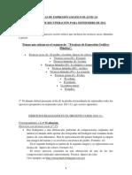TÉCNICAS DE EXPRESIÓN GRÁFICO-PLÁSTICAS recuperaciones 2011-12