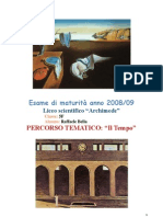 """""""Il Tempo"""" - Tesina Raffaele Bella"""